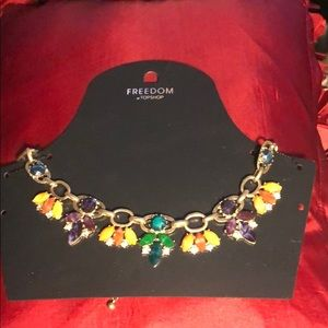 New Topshop statement necklace